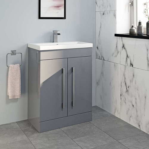 Basins with furniture