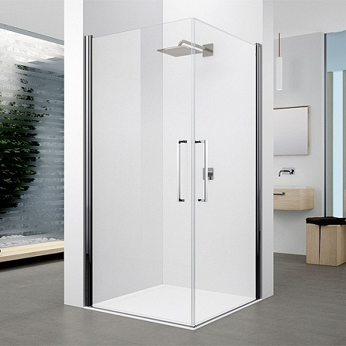 Corner Entry Showers